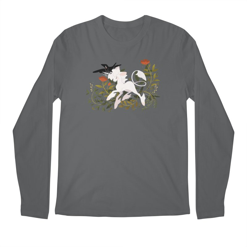 Crow & Unicorn Men's Longsleeve T-Shirt by StrangelyKatie's Store