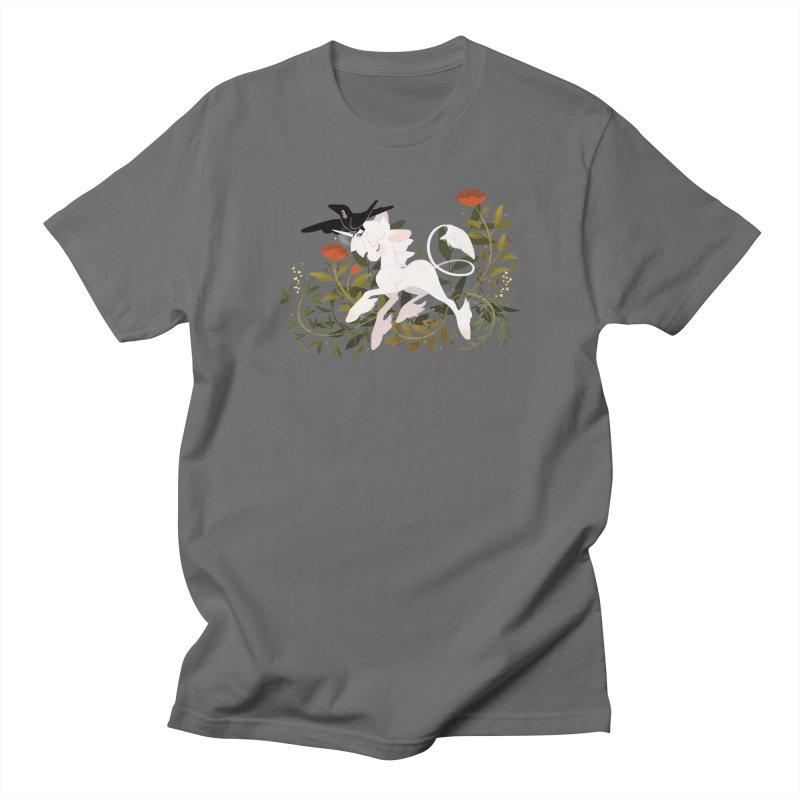 Crow & Unicorn Men's T-Shirt by StrangelyKatie's Store