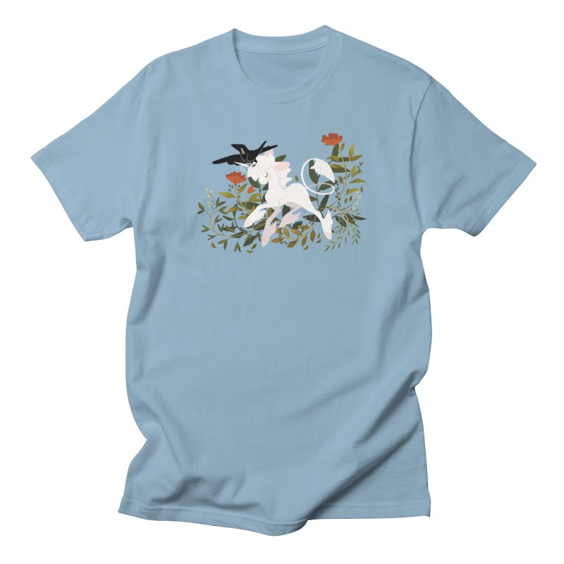 Crow & Unicorn Women's Unisex T-Shirt by StrangelyKatie's Store