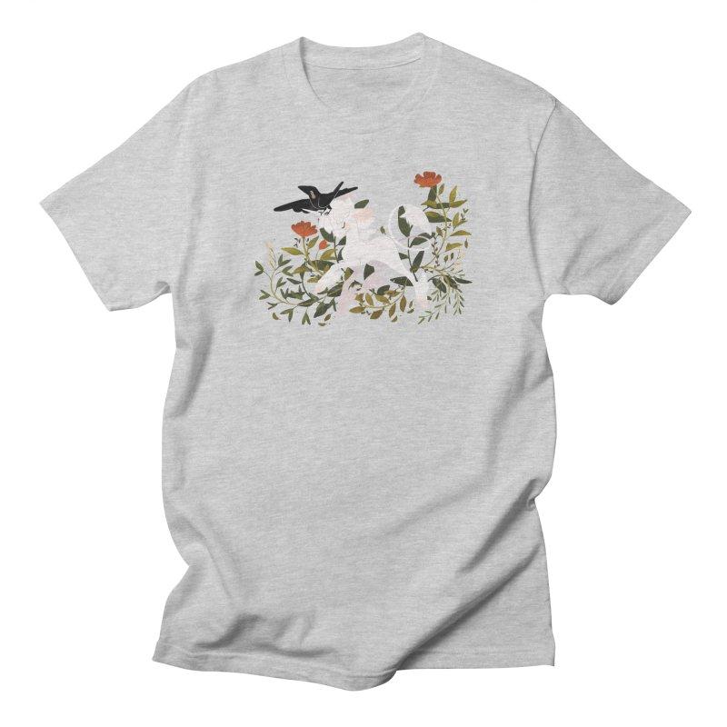 Crow & Unicorn Men's Regular T-Shirt by StrangelyKatie's Store