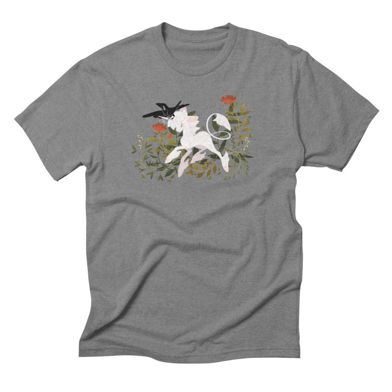 Crow & Unicorn Men's Triblend T-Shirt by StrangelyKatie's Store