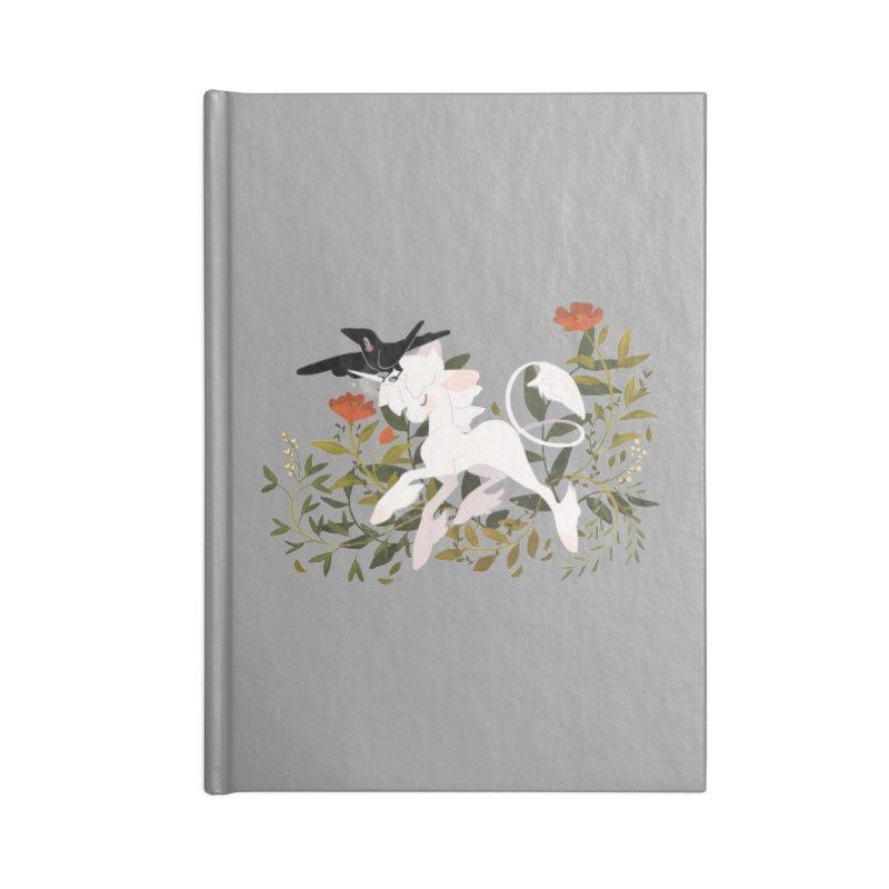 Crow & Unicorn Accessories Notebook by StrangelyKatie's Store
