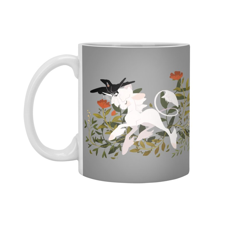Crow & Unicorn Accessories Standard Mug by StrangelyKatie's Store