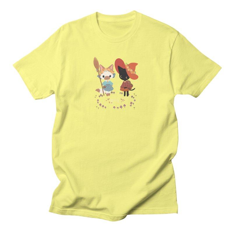 Witch Cats Men's T-Shirt by StrangelyKatie's Store
