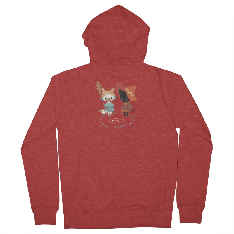 Witch Cats Men's French Terry Zip-Up Hoody by StrangelyKatie's Store