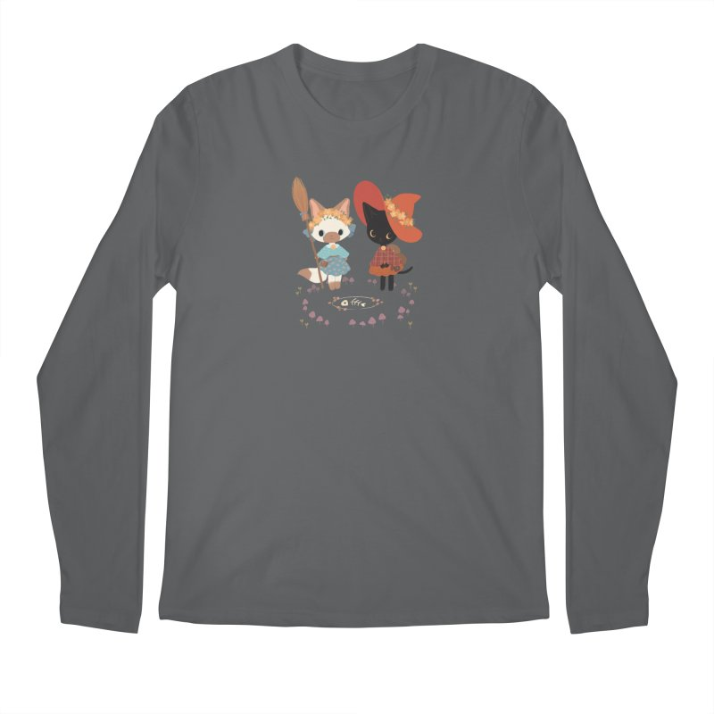 Witch Cats Men's Longsleeve T-Shirt by StrangelyKatie's Store