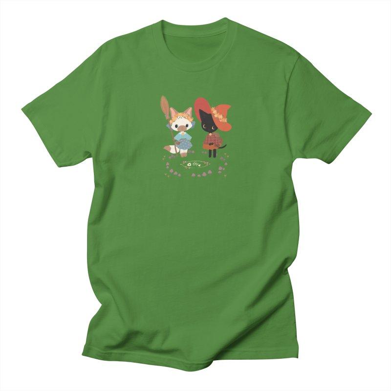 Witch Cats Women's Unisex T-Shirt by StrangelyKatie's Store