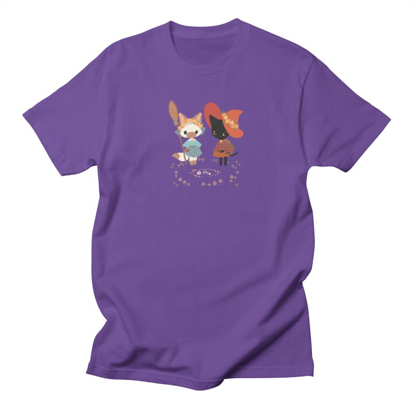 Witch Cats Men's T-Shirt by StrangelyKatie's Store