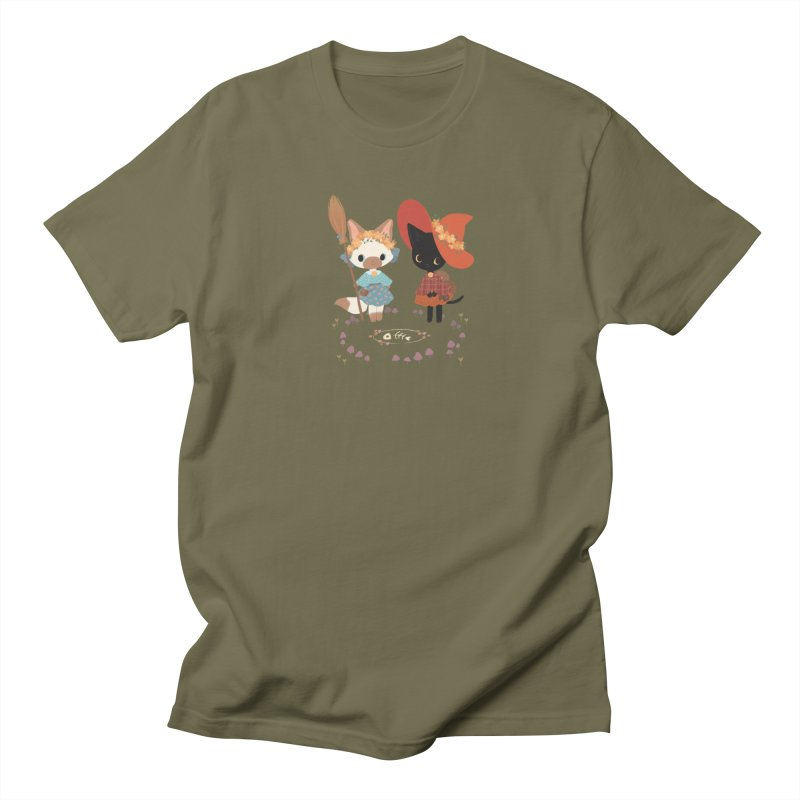 Witch Cats Men's Regular T-Shirt by StrangelyKatie's Store