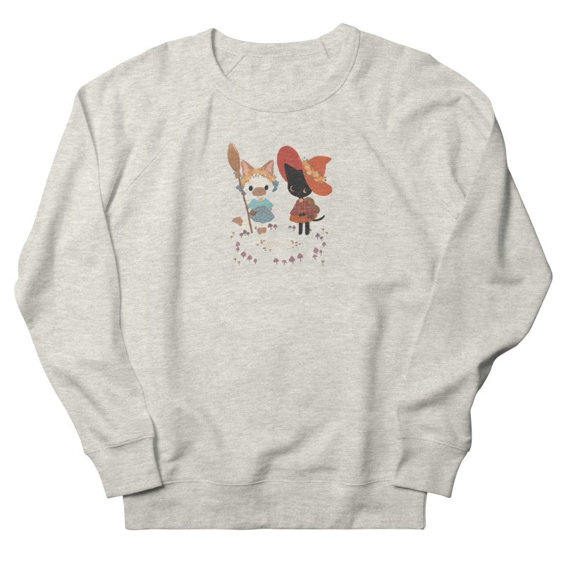 Witch Cats Women's French Terry Sweatshirt by StrangelyKatie's Store