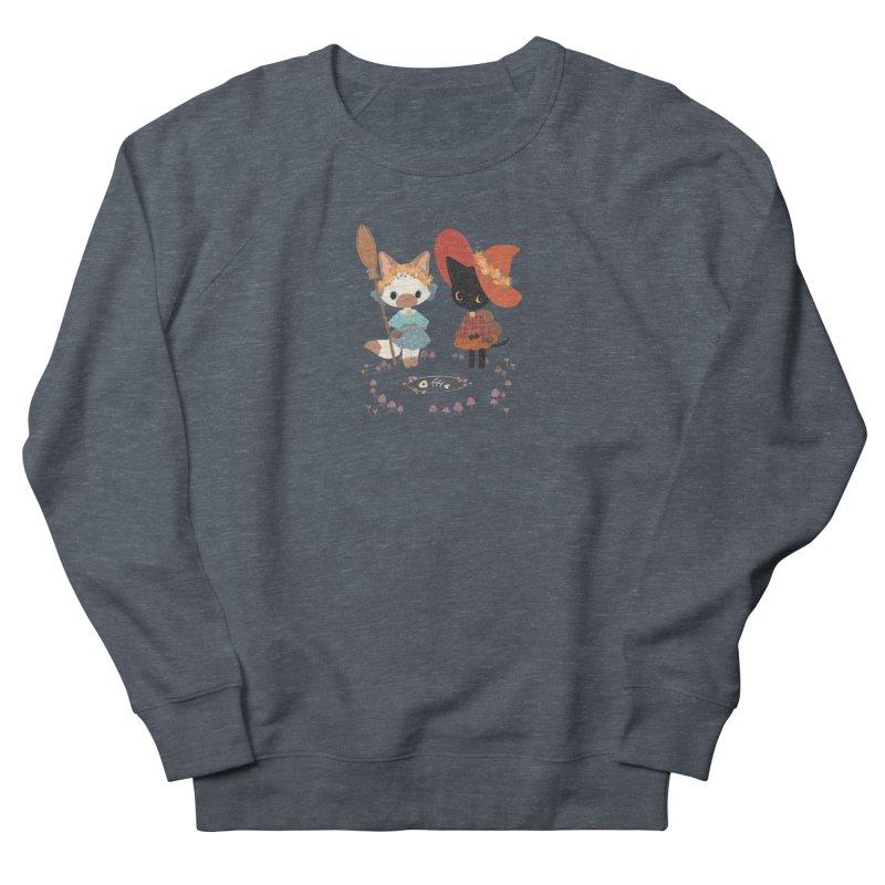 Witch Cats Men's French Terry Sweatshirt by StrangelyKatie's Store