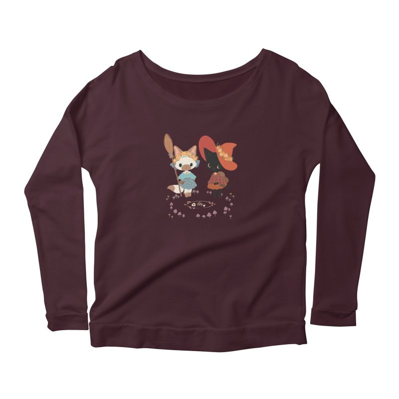 Witch Cats Women's Longsleeve T-Shirt by StrangelyKatie's Store