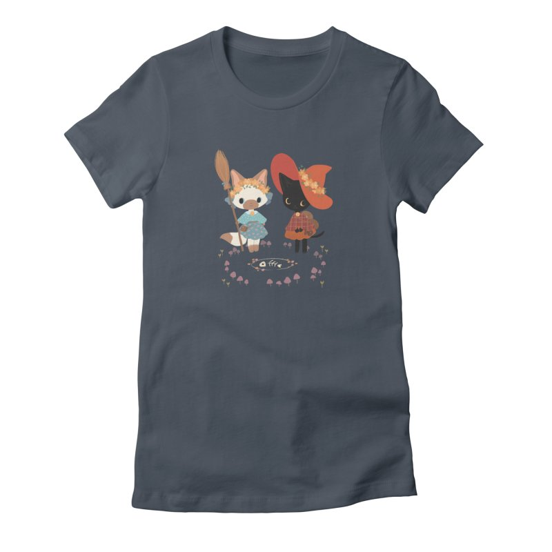Witch Cats Women's T-Shirt by StrangelyKatie's Store
