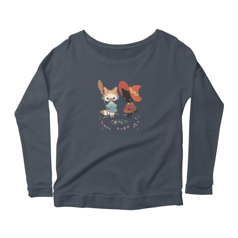 Witch Cats Women's Longsleeve T-Shirt by StrangelyKatie's Store