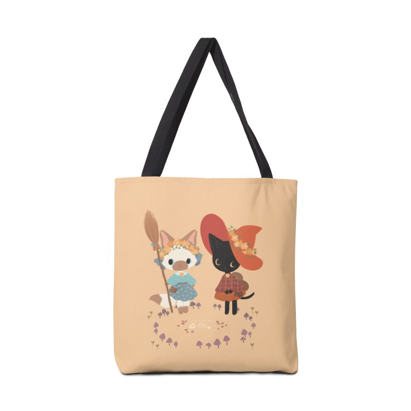 Witch Cats Accessories Bag by StrangelyKatie's Store