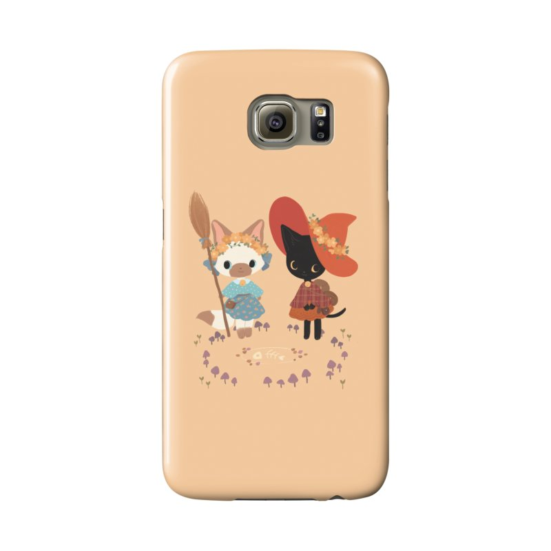 Witch Cats Accessories Phone Case by StrangelyKatie's Store