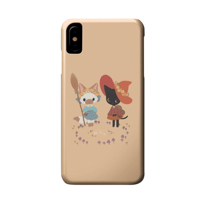 Witch Cats Accessories Phone Case by StrangelyKatie's Store
