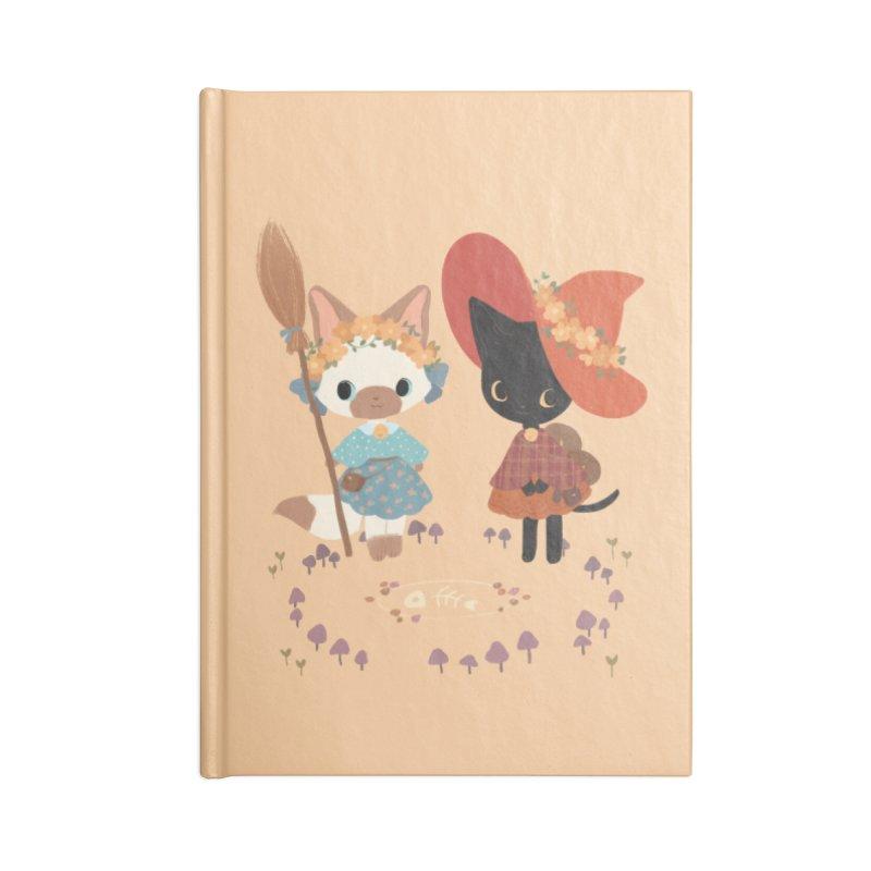 Witch Cats Accessories Notebook by StrangelyKatie's Store
