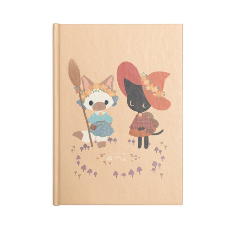 Witch Cats Accessories Notebook by StrangelyKatie's Store