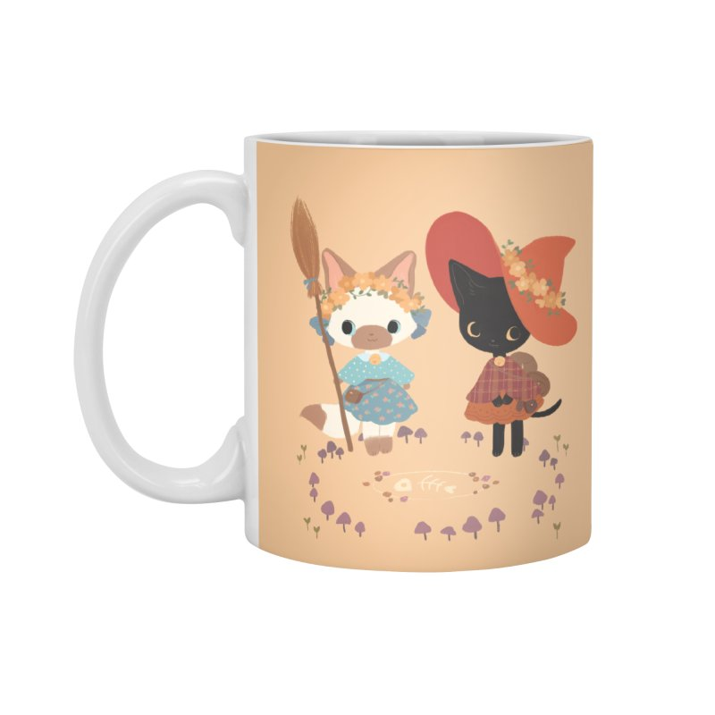Witch Cats Accessories Standard Mug by StrangelyKatie's Store
