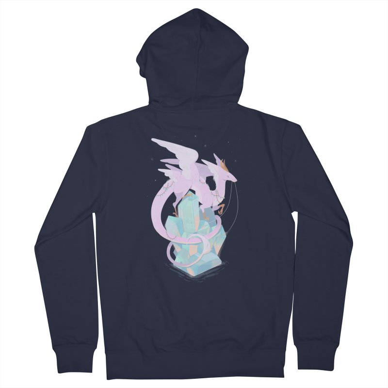 Crystal Dragon Women's Zip-Up Hoody by StrangelyKatie's Store