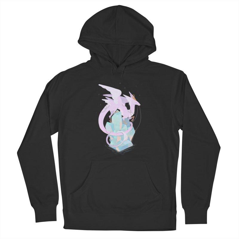 Crystal Dragon Men's Pullover Hoody by StrangelyKatie's Store
