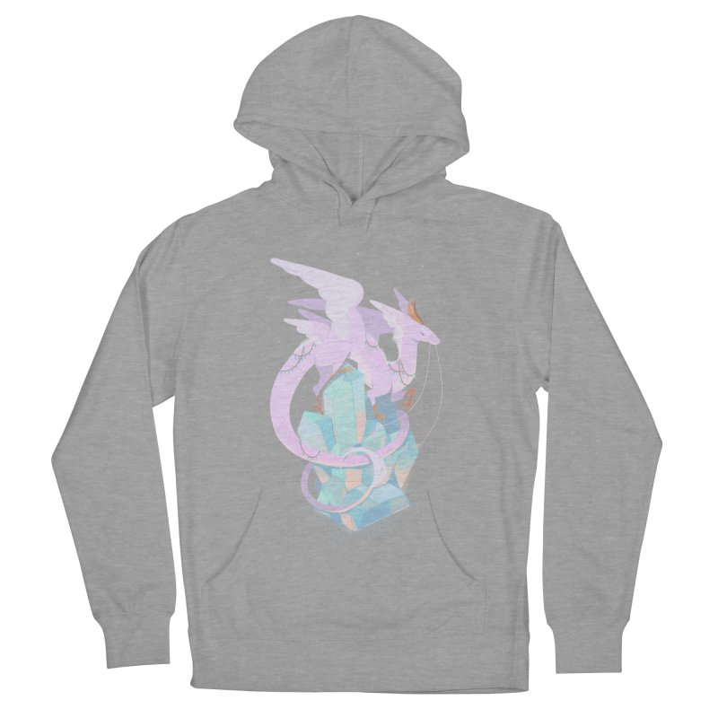 Crystal Dragon Men's Pullover Hoody by StrangelyKatie's Store