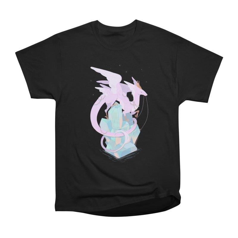 Crystal Dragon Women's Classic Unisex T-Shirt by StrangelyKatie's Store