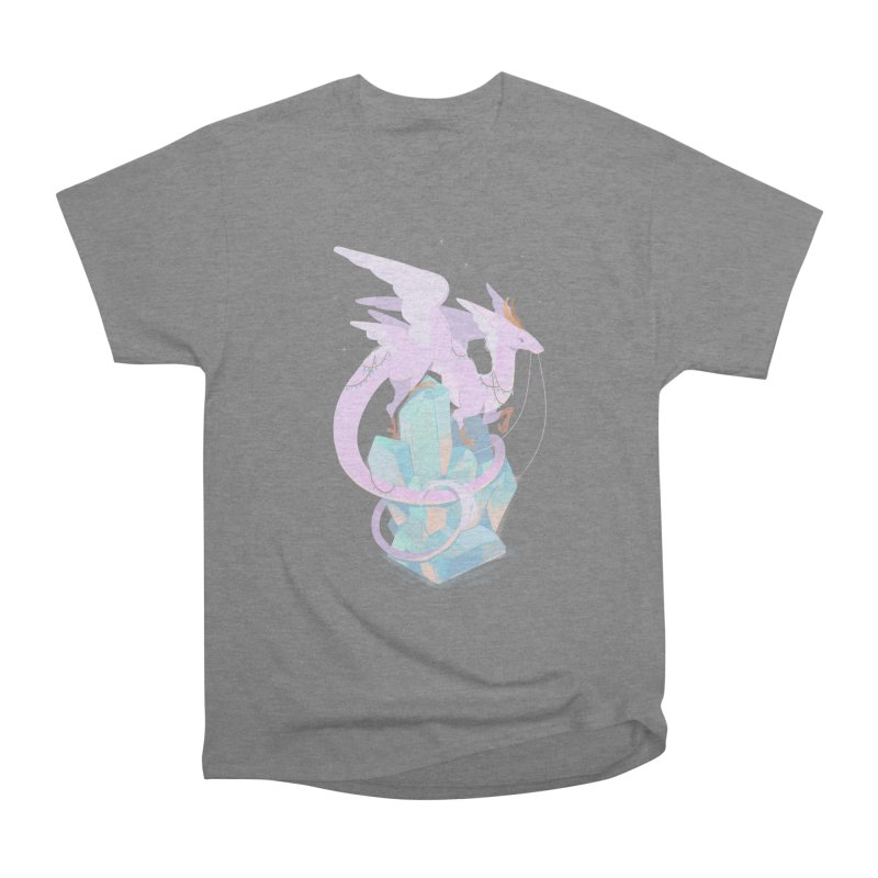Crystal Dragon Men's T-Shirt by StrangelyKatie's Store