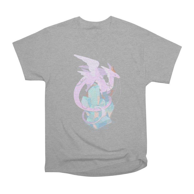 Crystal Dragon Men's Classic T-Shirt by StrangelyKatie's Store