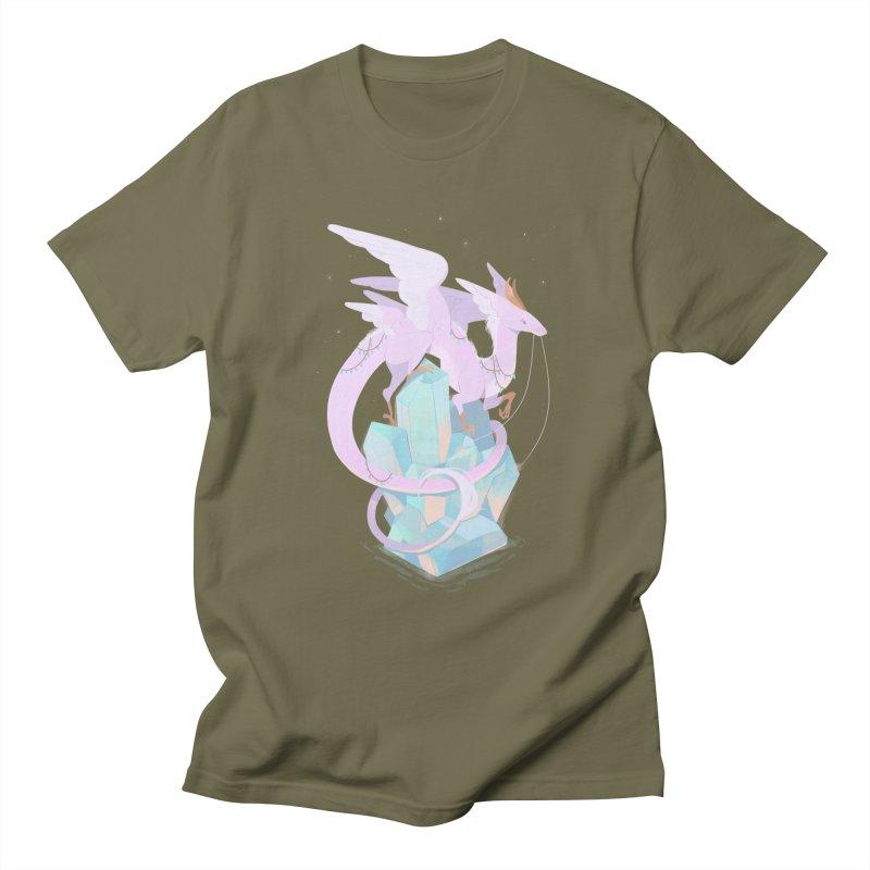 Crystal Dragon Women's Regular Unisex T-Shirt by StrangelyKatie's Store