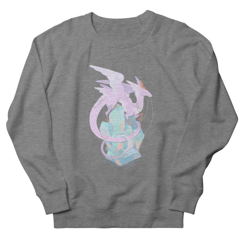Crystal Dragon Men's Sweatshirt by StrangelyKatie's Store