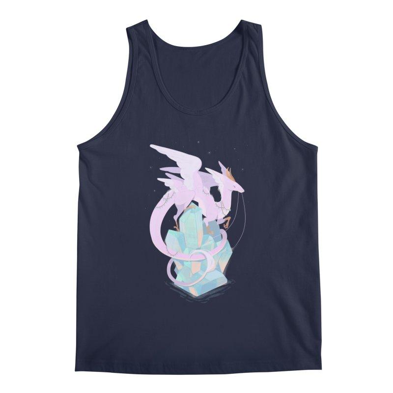 Crystal Dragon Men's Tank by StrangelyKatie's Store