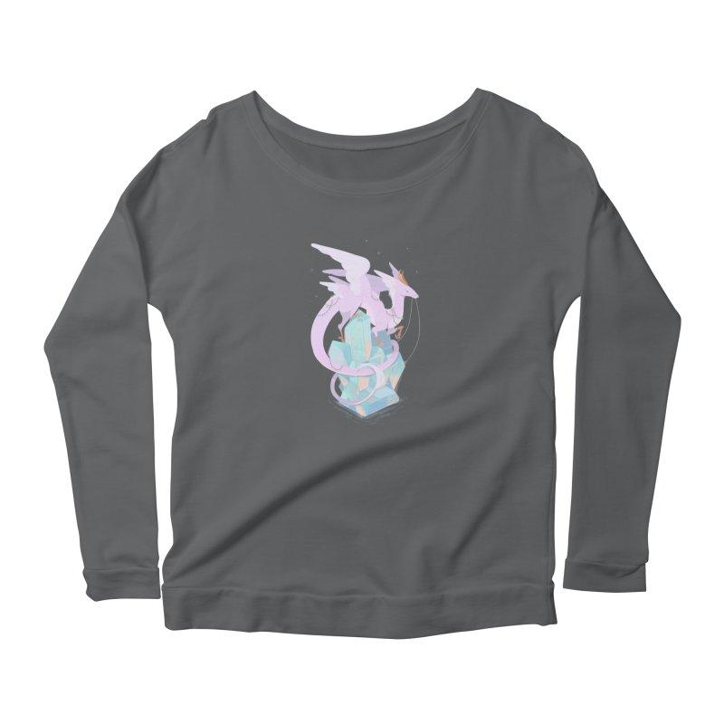 Crystal Dragon Women's Longsleeve T-Shirt by StrangelyKatie's Store