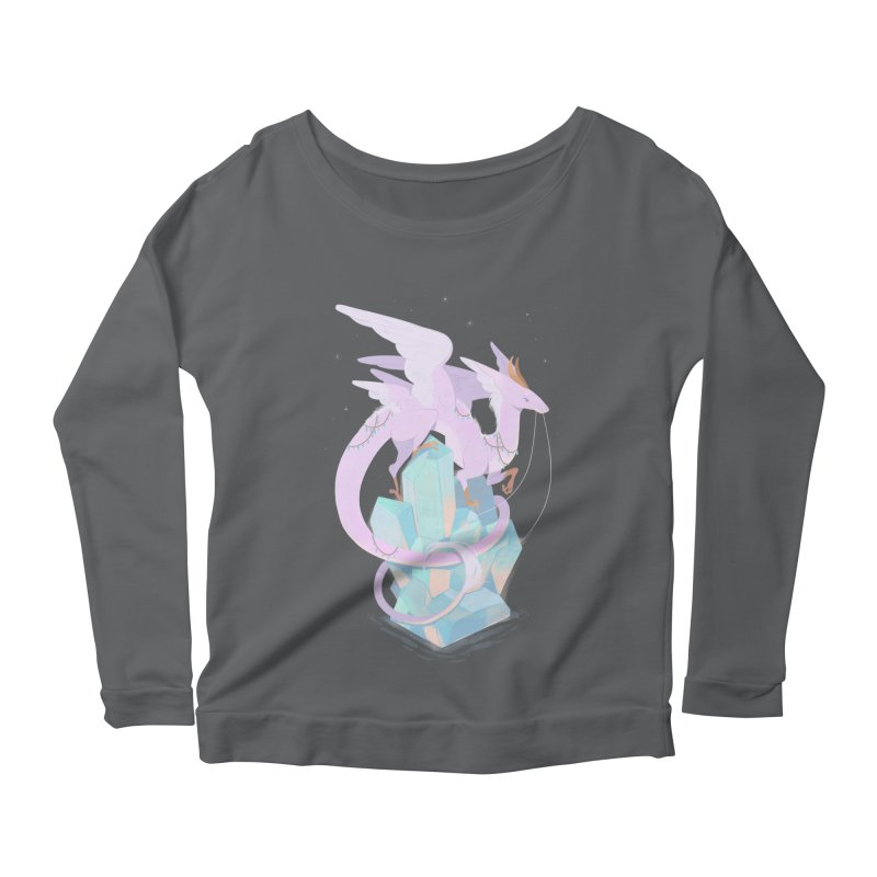 Crystal Dragon Women's Longsleeve T-Shirt by StrangelyKatie's Store