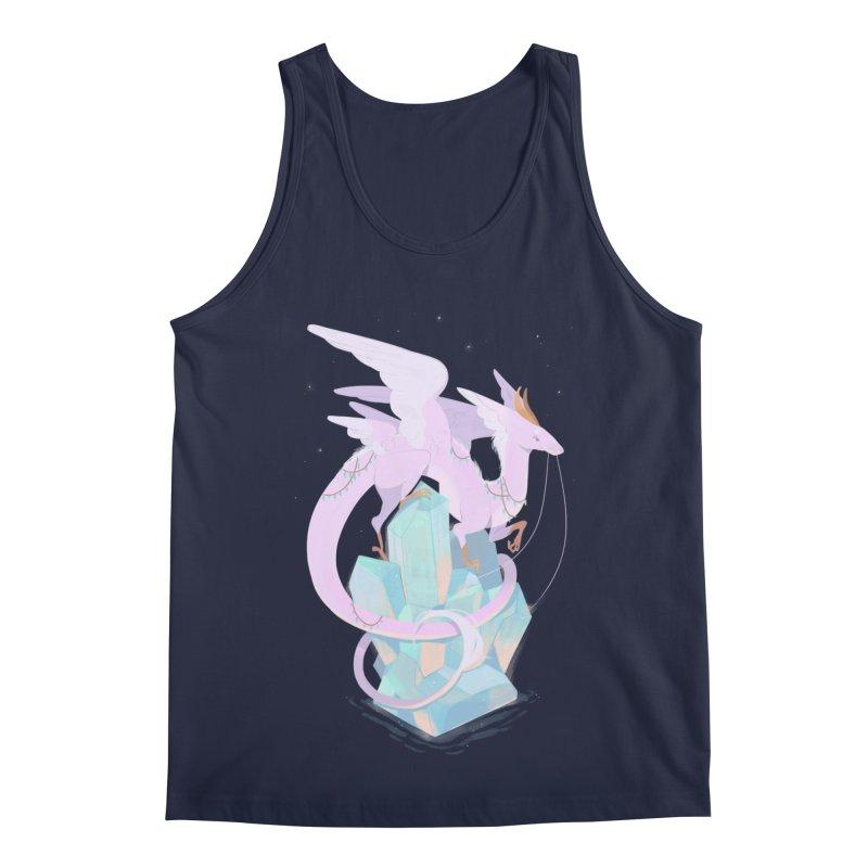 Crystal Dragon Men's Regular Tank by StrangelyKatie's Store