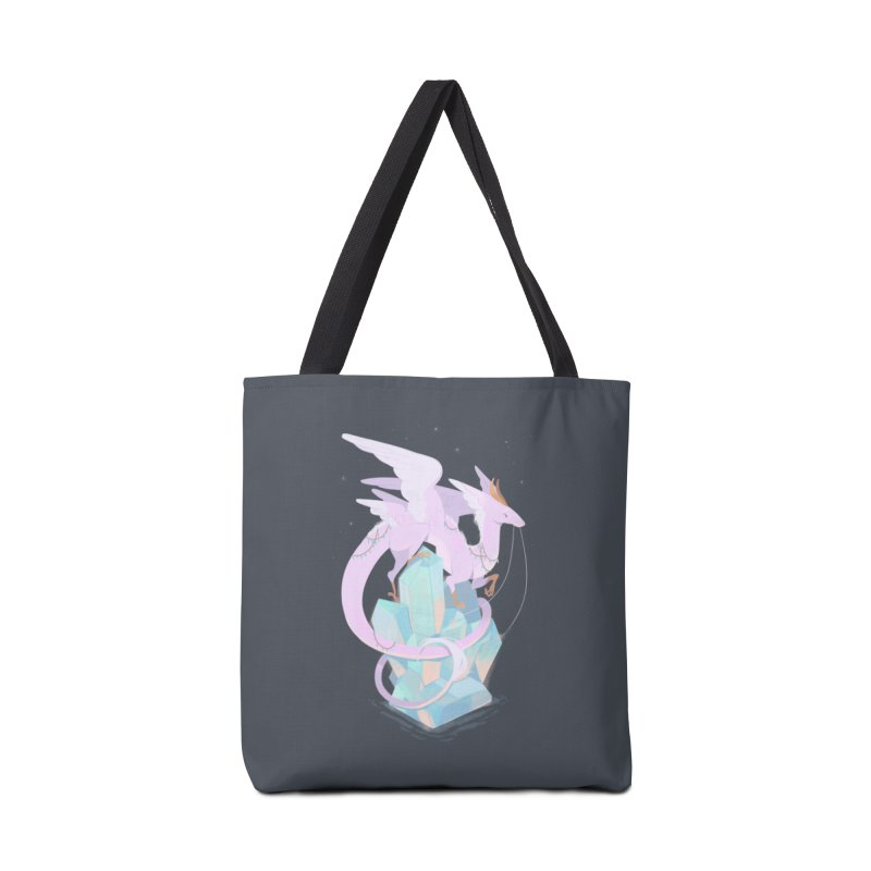 Crystal Dragon Accessories Tote Bag Bag by StrangelyKatie's Store