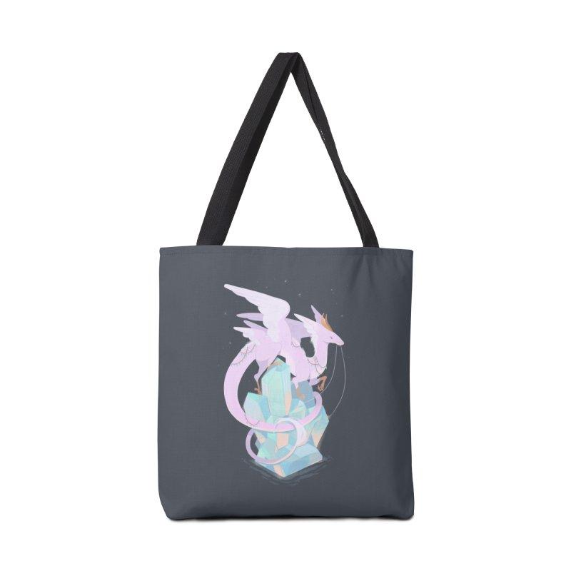 Crystal Dragon Accessories Bag by StrangelyKatie's Store
