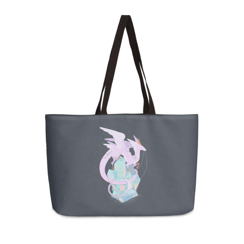 Crystal Dragon Accessories Weekender Bag Bag by StrangelyKatie's Store