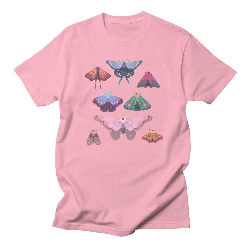 Magical Moths Men's T-Shirt by StrangelyKatie's Store