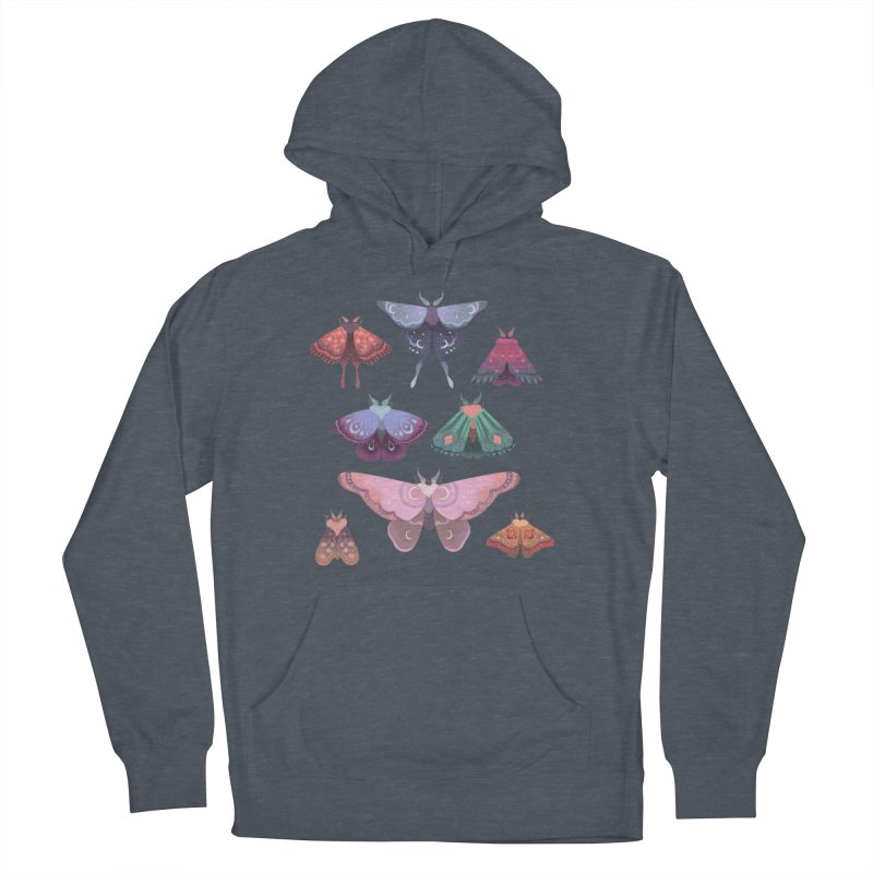 Magical Moths Men's Pullover Hoody by StrangelyKatie's Store