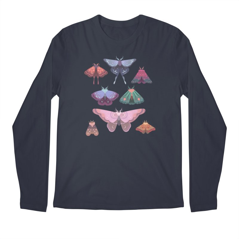 Magical Moths Men's Longsleeve T-Shirt by StrangelyKatie's Store