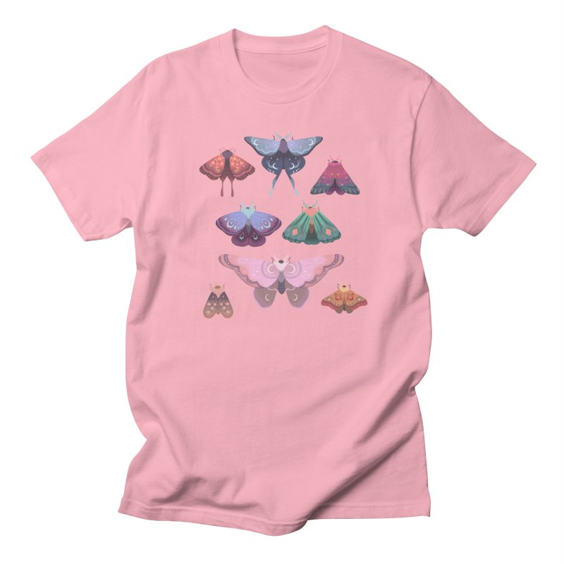 Magical Moths Men's T-Shirt by StrangelyKatie's Store