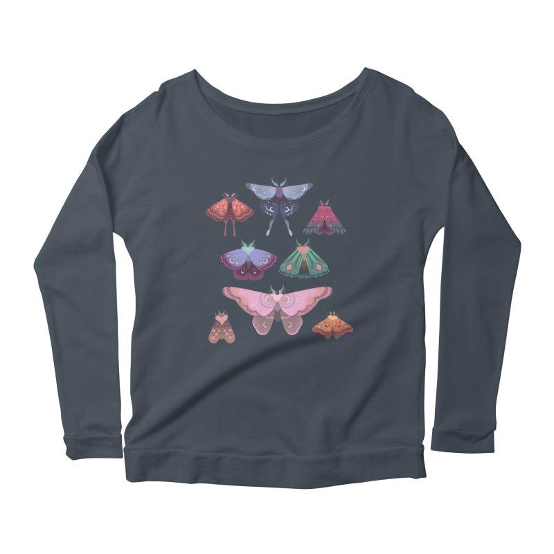 Magical Moths Women's Longsleeve T-Shirt by StrangelyKatie's Store