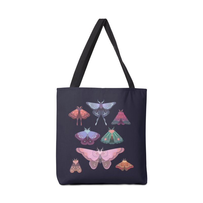 Magical Moths Accessories Bag by StrangelyKatie's Store