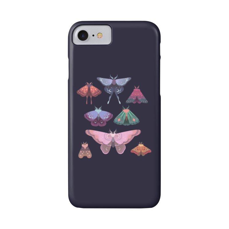 Magical Moths Accessories Phone Case by StrangelyKatie's Store