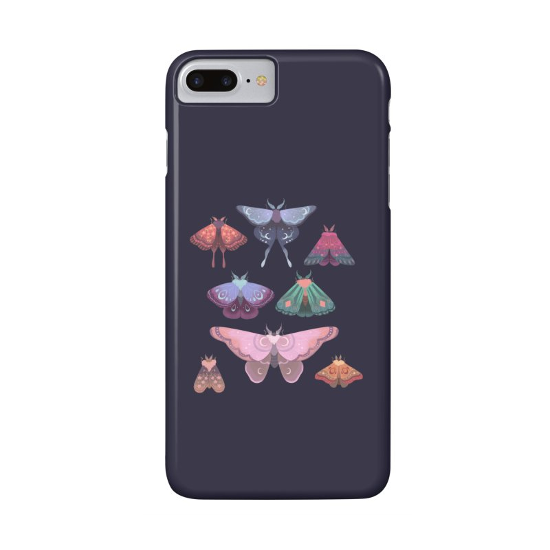 Magical Moths Accessories Phone Case by StrangelyKatie's Store