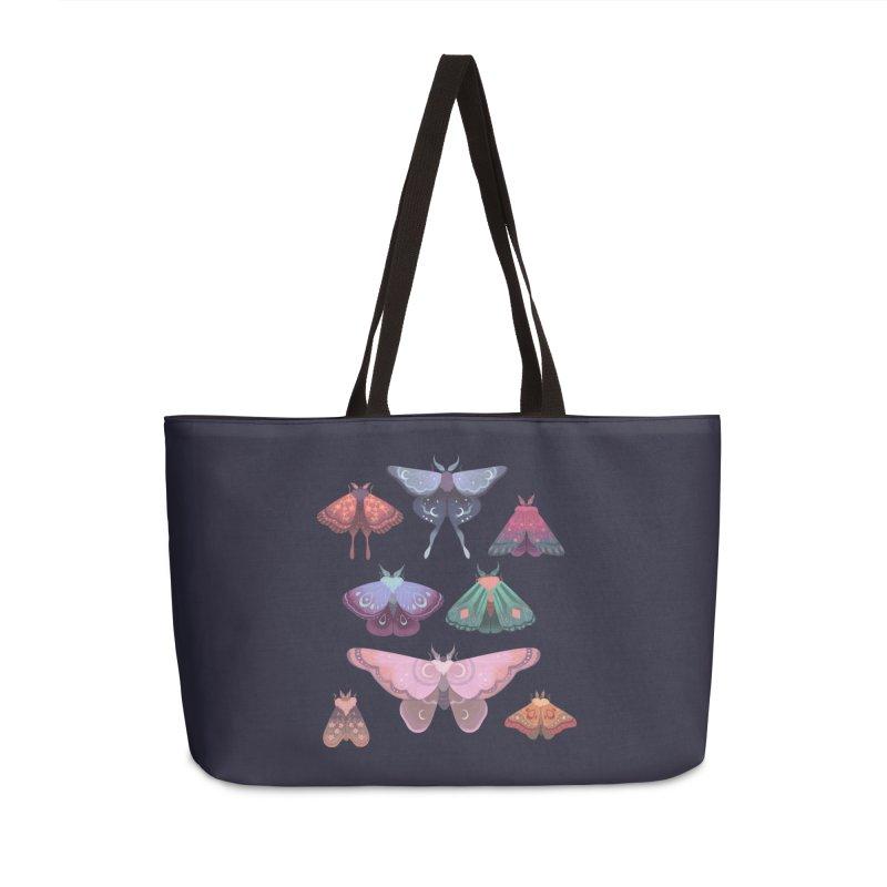Magical Moths Accessories Weekender Bag Bag by StrangelyKatie's Store