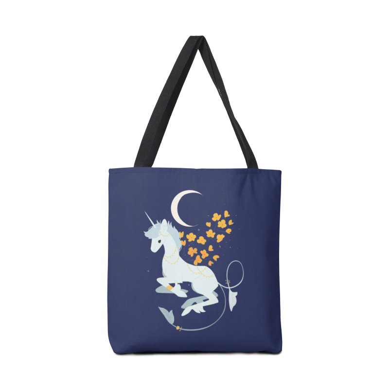 Unicorn Moon Accessories Tote Bag Bag by StrangelyKatie's Store