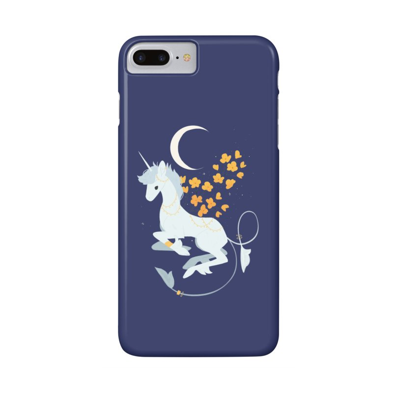 Unicorn Moon Accessories Phone Case by StrangelyKatie's Store